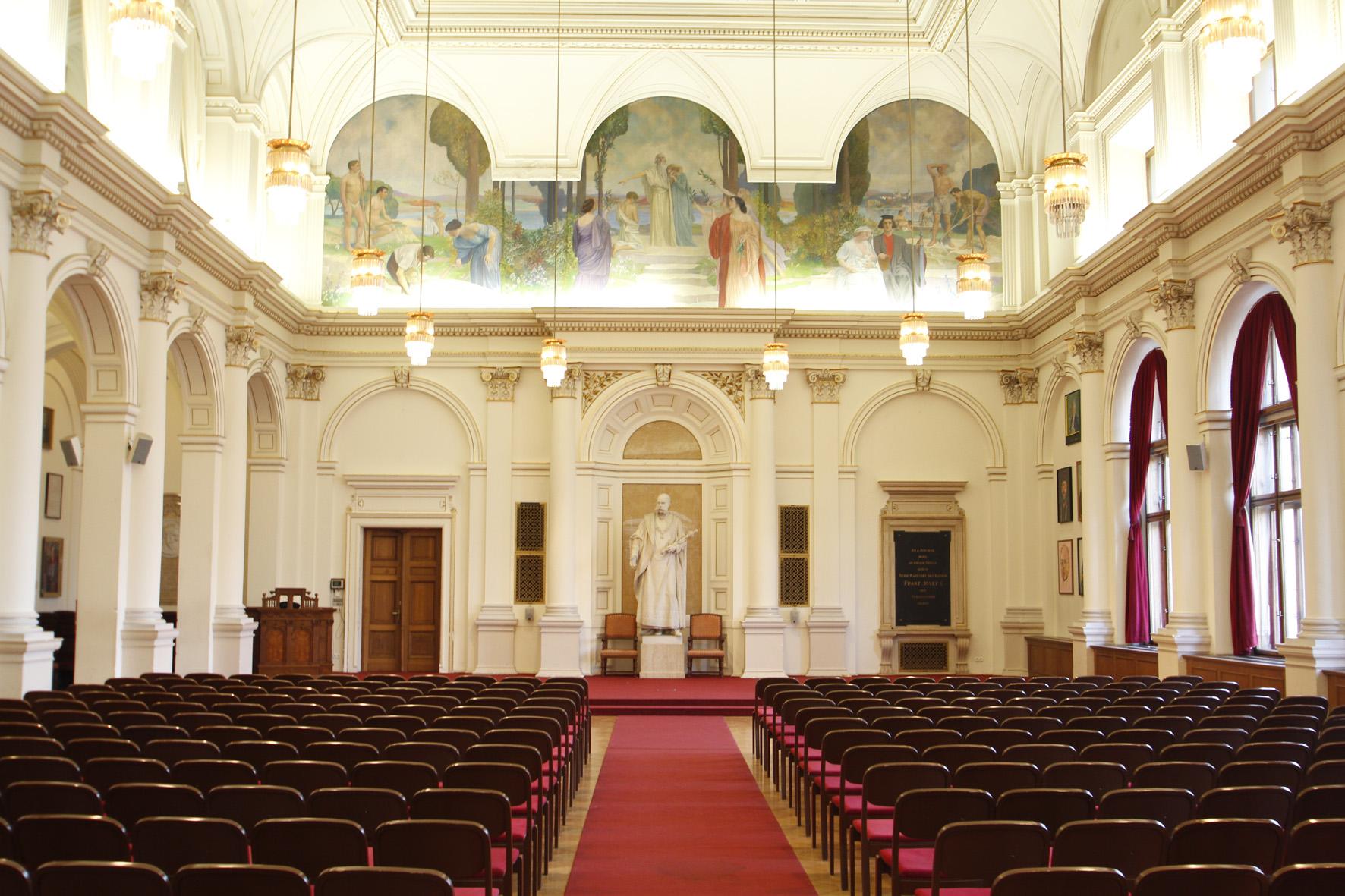 Aula der Karl Franzens Universität